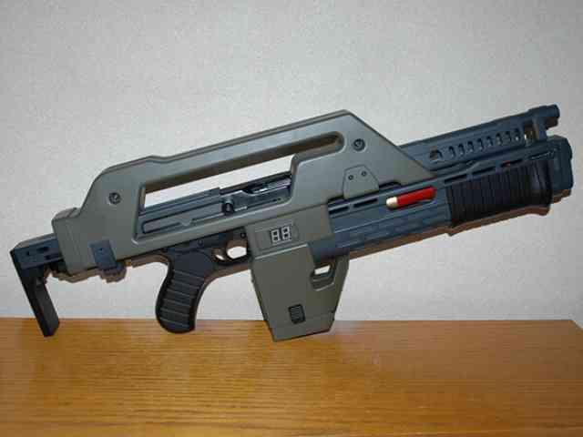 SF映画でおススメしたい銃火器「パルスライフル」について!