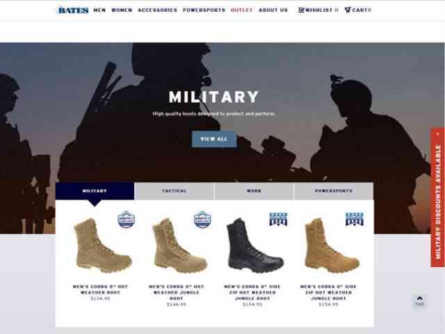 日常生活でお勧めの軍装品「BATES」ブーツ