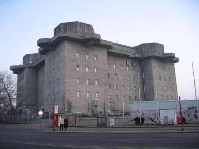 第三帝国の威厳、要塞として造られた高射砲塔の行方