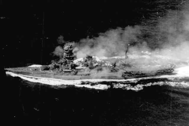 レイテ沖海戦 戦艦伊勢を救った対空ロケット砲