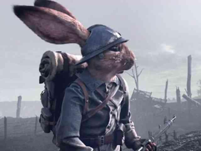 ウサギたちの戦場!ショートアニメーション「POILUS」