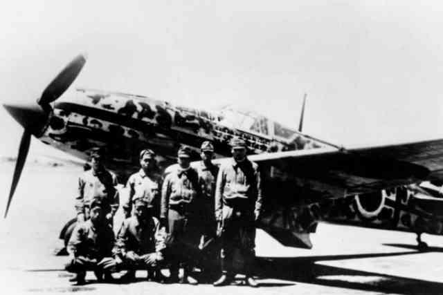 WW2の日本で実戦投入された液冷エンジン戦闘機