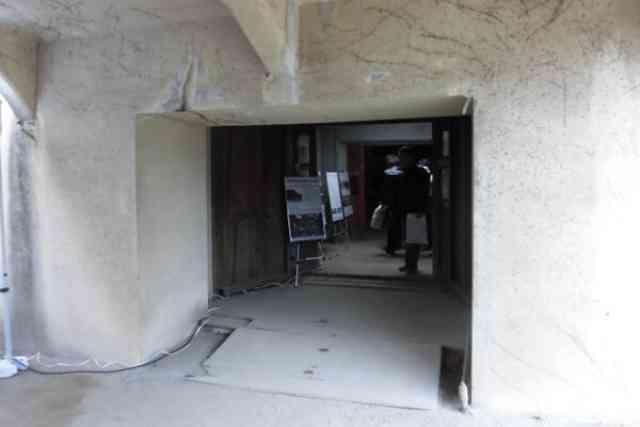 公開された呉地方総監部の地下作戦室