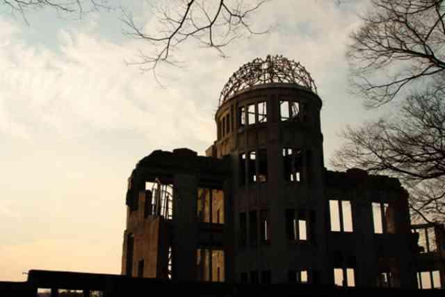 広島で原爆に遭遇しました