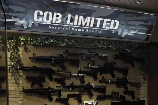 大阪の「CQB Limited」でサバイバルゲームしてきました