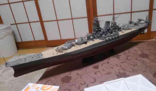 巨大戦艦の燃料事情ー大食艦のはずが意外と低燃費?
