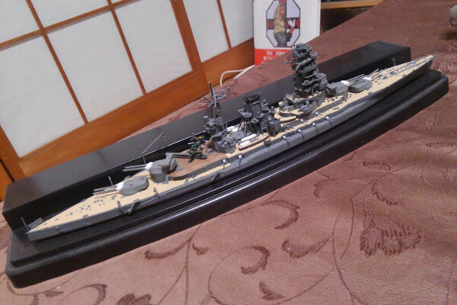長門型高速戦艦構想 幻の機関増強計画