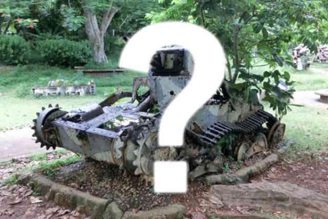 ウソかホントか?神奈川県の95式軽戦車を探せ?!