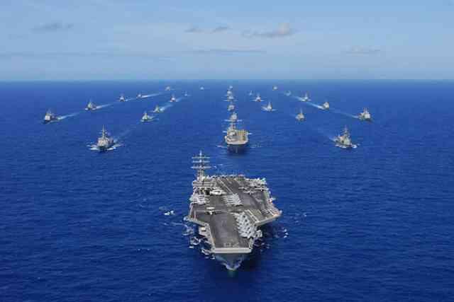 環太平洋合同演習(リムパック)中国を仮想敵と想定?