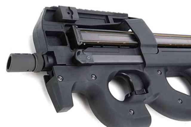 【WE-TECH/CYBERGUN】P90 TR ガスブローバック BK/TAN