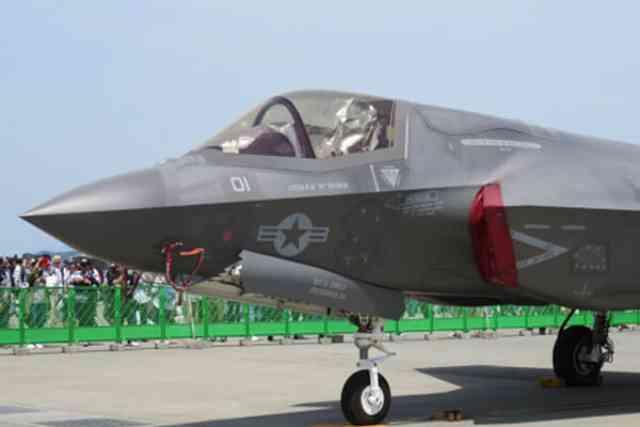 F-35Bが飛んだ!岩国フレンドシップデー