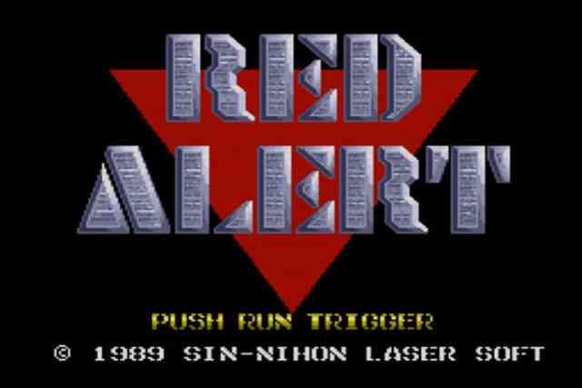 日本ファルコムの硬派アクションゲーム「レッドアラート」の思い出