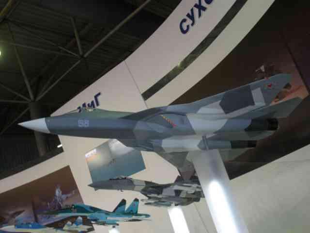 ロシア最新鋭ステルス戦闘機「SU57」2019年実践配備予定