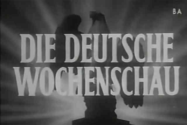「ドイツ週間ニュース」に見る戦局説明
