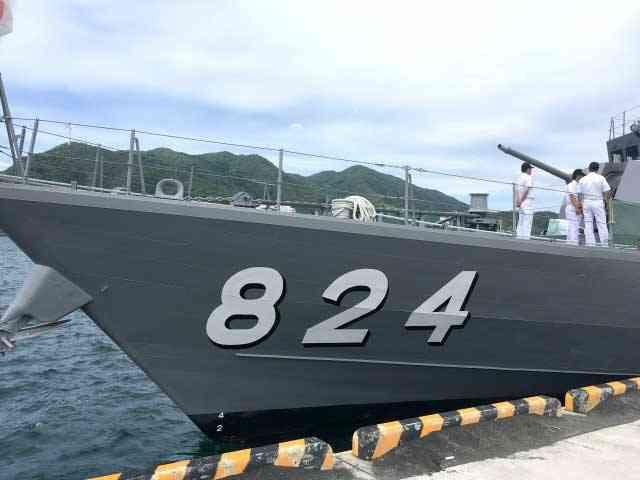 ミサイル艇「はやぶさ」の一般公開に行ってきました