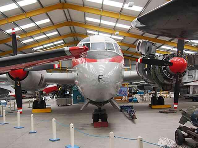 英国の航空博物館に行ってきた!Newark Air Museum 屋内編