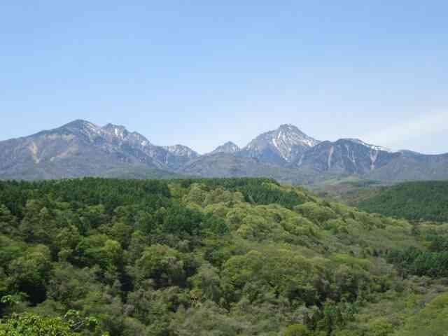 初めて登った山は標高1,643メートル?!