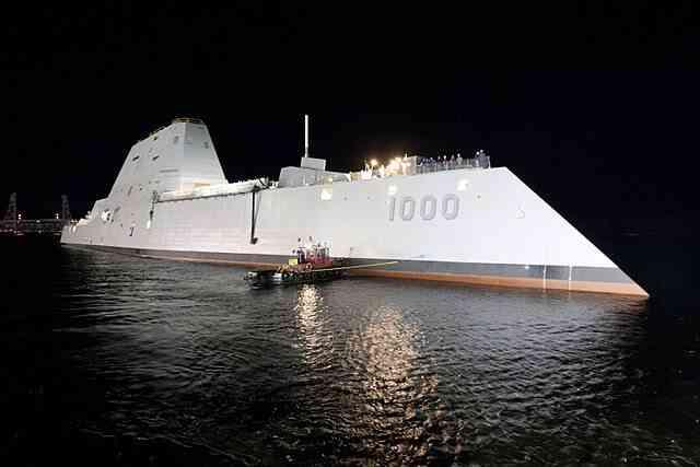 アメリカ海軍のズムウォルト級駆逐艦の2番艦が登場