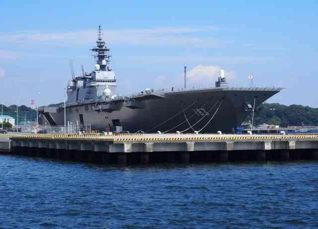 護衛艦「いずも」の航空母艦化