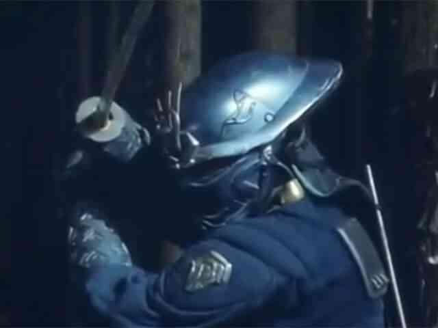 サイバーニンジャアクション!特撮映画「未来忍者 慶雲機忍外伝」