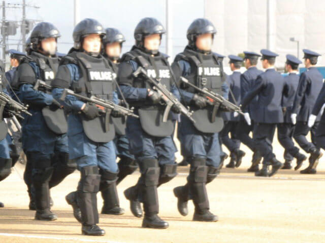 警察の対テロ部隊 銃器対策部隊