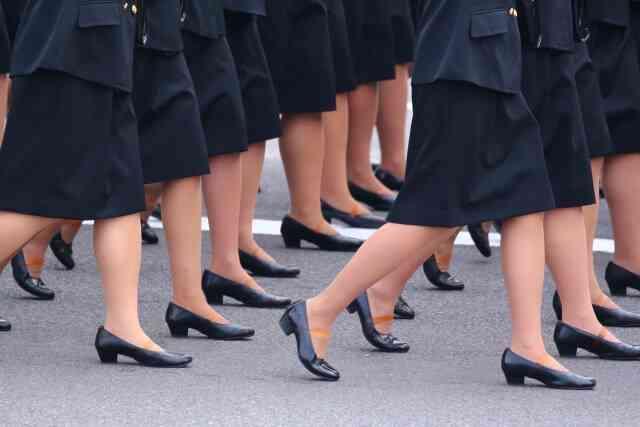 女性自衛官のおはなし