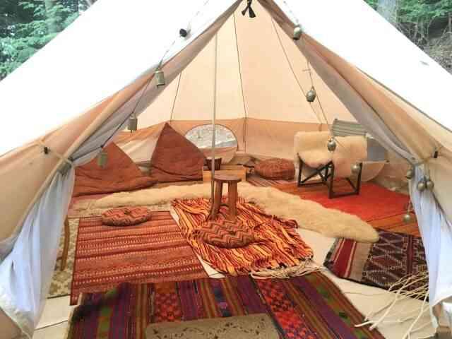 風でも嵐でも子供連れでも!常設テント泊とは?