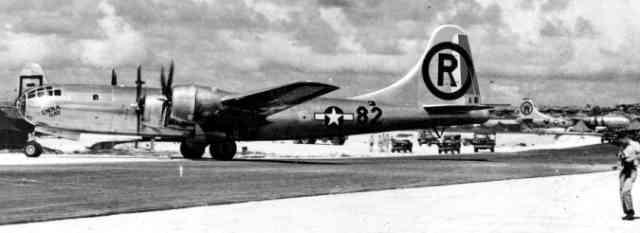 第509航空部隊 B29爆撃機 エノラ・ゲイ