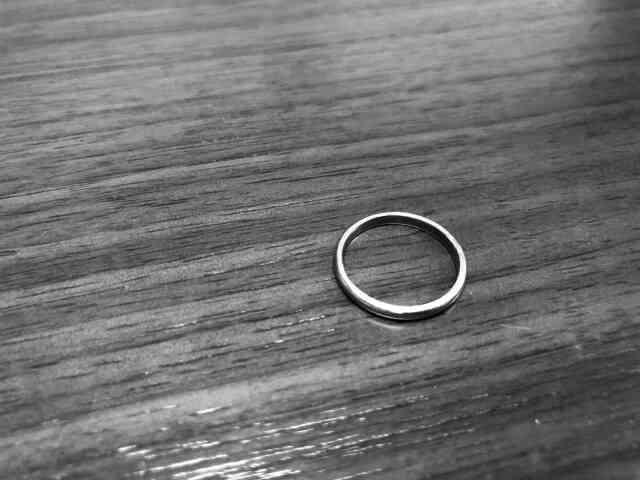 なくしてしまった結婚指輪