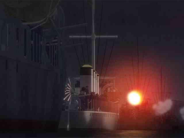 ゴールデンカムイに登場した軍艦「雷」