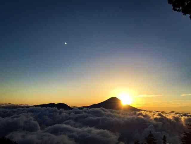 富士山御来光へのみち
