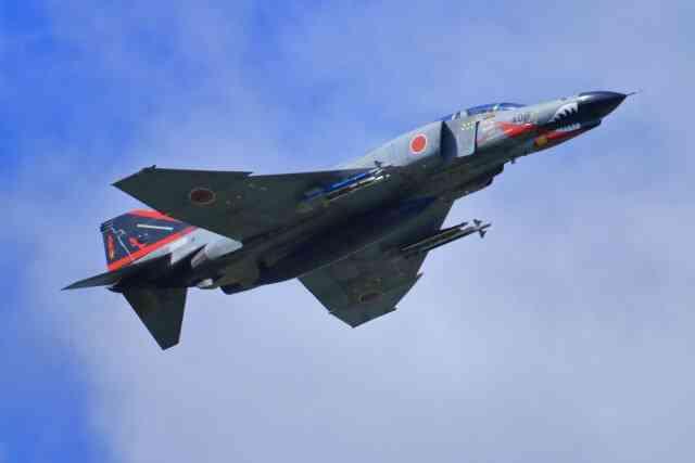 遂に来年で退役!新谷かおる先生の漫画にもなったF-4ファントム戦闘機