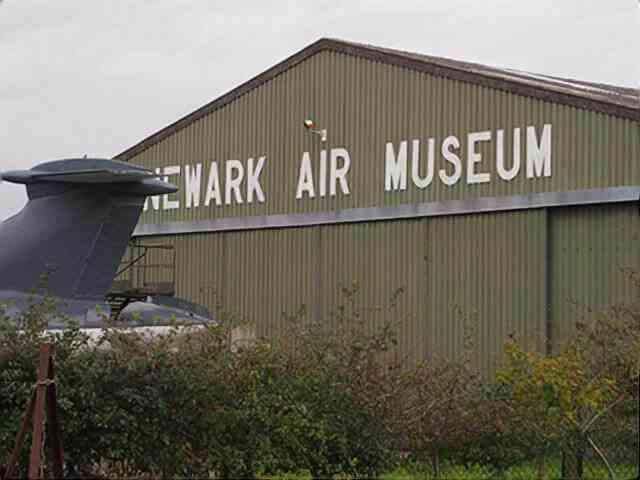 英国の航空博物館に行ってきた!Newark Air Museum 屋外編