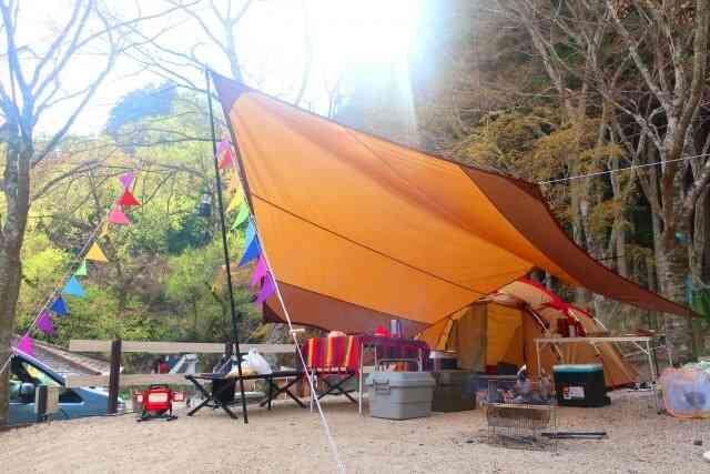 家族で楽しいキャンプ