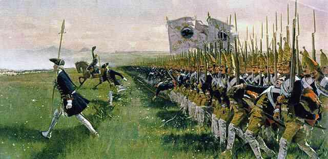 プロシア軍の戦列歩兵
