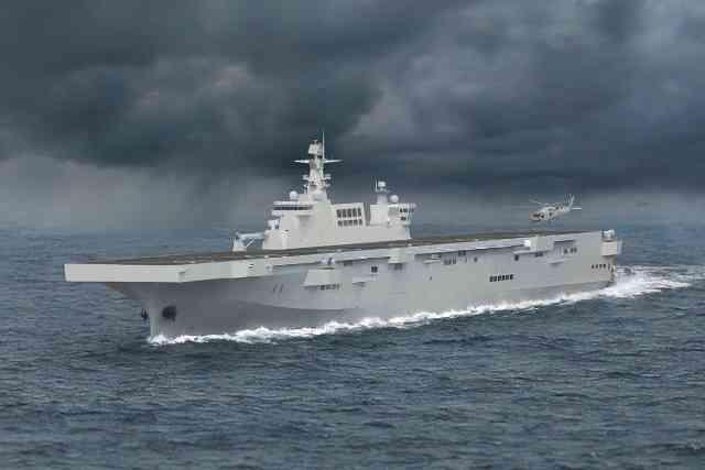 075型強襲揚陸艦イメージ
