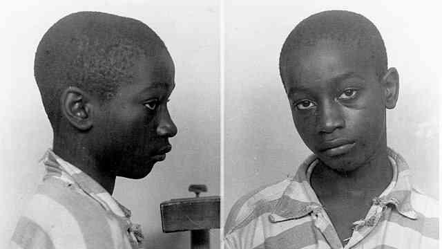 14歳の黒人少年ジョージ・スティニー